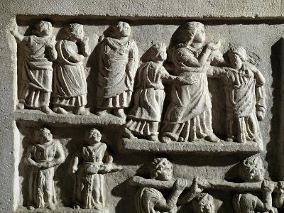 Detail from Marble Relief Depicting Funeral Cortege, from Arniternuni--Giclee Print