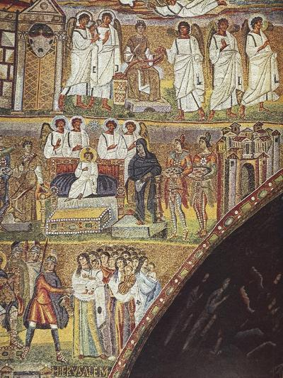 Detail from Scenes from Christ's First Coming and Jesus' Infancy--Giclee Print