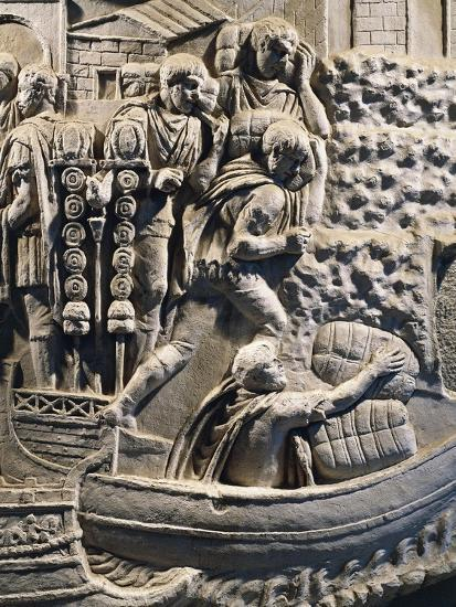 Detail from the Cast from Trajan's Column--Giclee Print