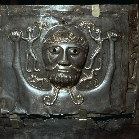 Detail from the Celtic Gundestrop Cauldron, 3rd century. Artist: Unknown-Unknown-Giclee Print