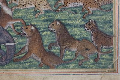 Detail from the Jackal Who Pronounced Himself King, C.1560-65--Giclee Print