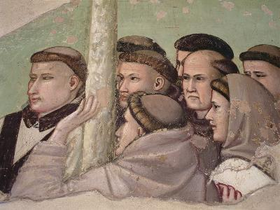 Detail from 'Vision of the Ascension of St. Francis, Bardi Chapel-Giotto di Bondone-Giclee Print