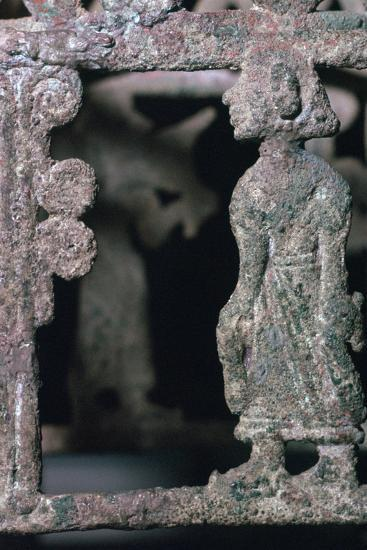 Detail of a bronze stand, 17th century BC-Unknown-Giclee Print