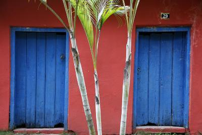 Detail of a Colonial House at the Historical Centre (Cidade Alta) of Porto Seguro, Bahia, Brazil-Yadid Levy-Photographic Print