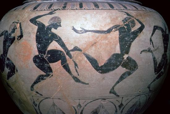 Detail of a Greek vase-Unknown-Giclee Print
