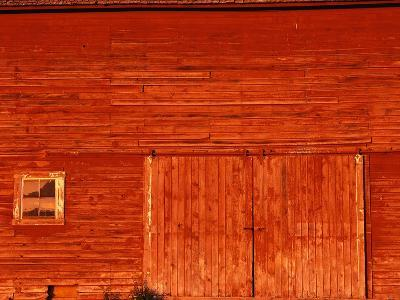Detail of a Red Barn-Stuart Westmorland-Photographic Print