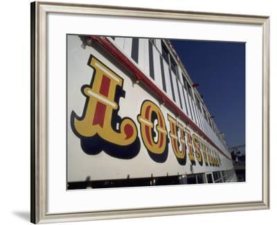 Detail of a Riverboat, Cincinnati, OH-Jeff Friedman-Framed Photographic Print