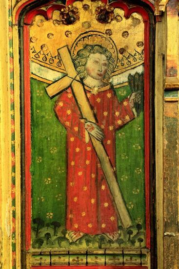 Detail of a Rood Screen Depicting William of Norwich, Church of St Peter and St Paul, Eye, Suffolk--Giclee Print
