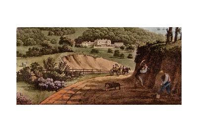 Detail of a View of Sherringham Bower, Norfolk: Abbot Upcher, C.1812-Humphry Repton-Giclee Print