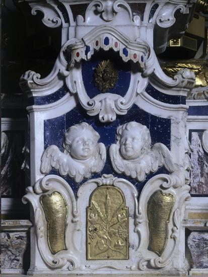 Detail of Altar of Lecce Cathedral, Apulia, Italy--Giclee Print