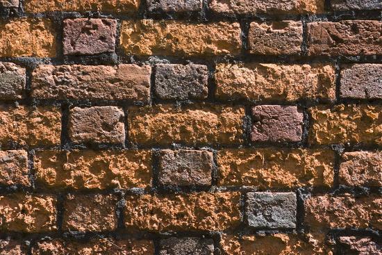 Detail of an Ancient Brick Wall-Natalie Tepper-Photo
