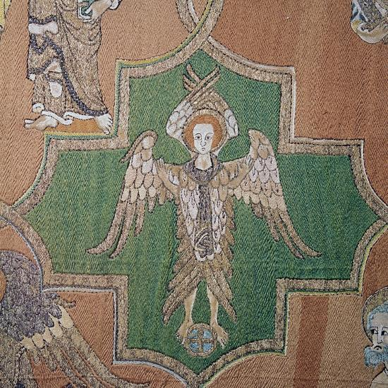 Detail of an angel from the Syon Cope, 14th century-Unknown-Giclee Print