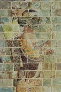 Detail of an Archer from a Frieze, from the Palace of Darius the Great at Susa
