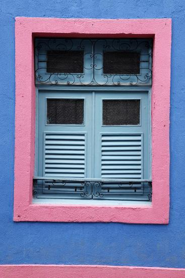 Detail of an Old Colonial House, Olinda, Pernambuco, Brazil, South America-Yadid Levy-Photographic Print