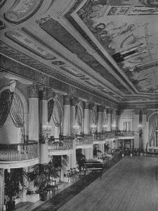 Detail of ballroom, Los Angeles-Biltmore Hotel, Los Angeles, California, 1923