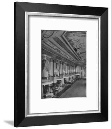 Detail of ballroom, Los Angeles-Biltmore Hotel, Los Angeles, California, 1923--Framed Photographic Print