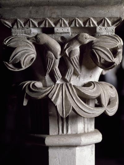 Detail of Capital of Altar Mensa of Frederick II, Cathedral Basilica of Maria Assunta--Giclee Print