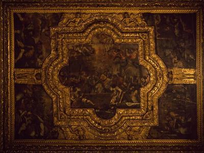 Detail of Ceiling of Basilica of San Nicola Di Bari, 1087, Apulia, Italy, 11th Century--Giclee Print