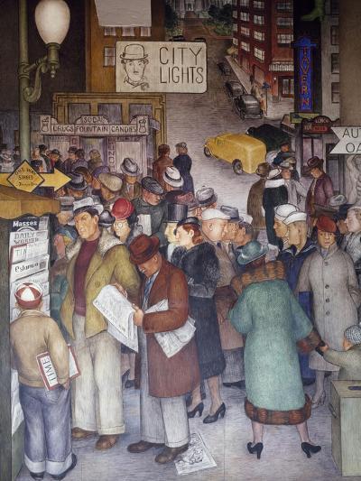 Detail of City Life-Victor Arnautoff-Giclee Print