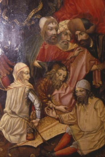 Detail of Crucifixion, Frankfurt, West Germany, 1430-Unknown-Giclee Print