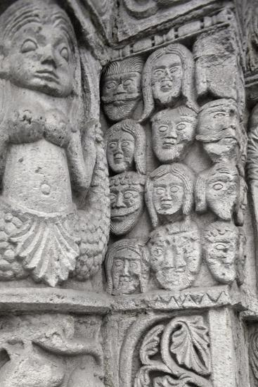 Detail of Decoration from Entrance to Basilica of San Michele Maggiore--Giclee Print
