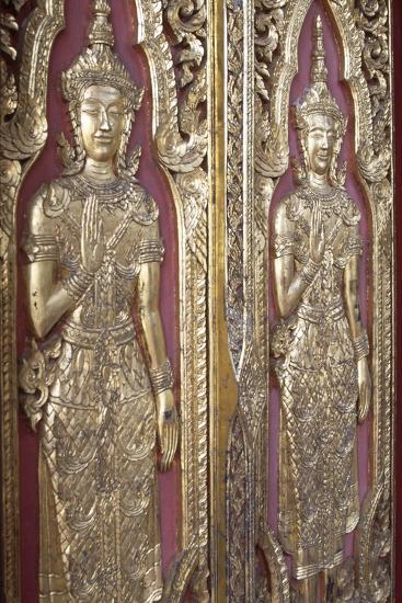 Detail of Decoration from Temples Ruins in Ayutthaya--Photographic Print