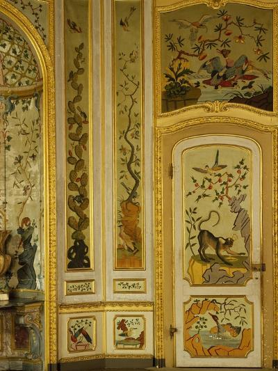 Detail of Decorations in Games Room, 1730, Stupinigi's Little Hunting Palace--Photographic Print