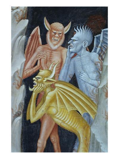 Detail of Demons from Militant Church and Triumphant Church-Andrea di Buonaiuto-Giclee Print