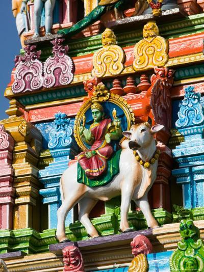 Detail of Dravidian-style Kapaleeshwarar Temple, India-Walter Bibikow-Photographic Print