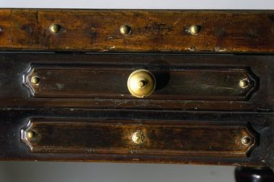 Detail of Drawers of Walnut Library Table, Made in Bologna, Italy, 16th Century--Giclee Print