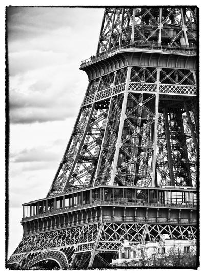 Detail of Eiffel Tower - Paris - France-Philippe Hugonnard-Photographic Print