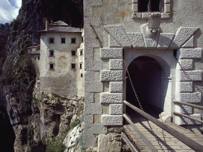 Detail of Entrance Way to Predjama Castle--Giclee Print
