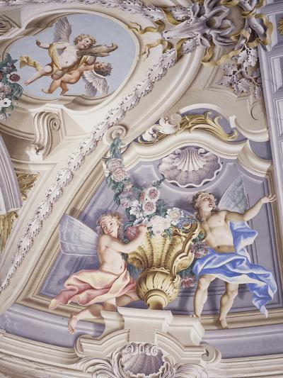 Detail of Frescoes--Photographic Print
