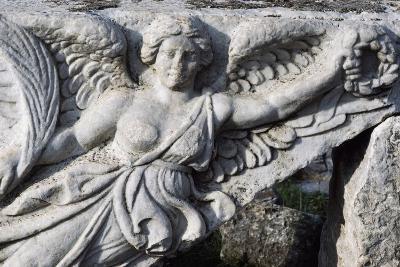 Detail of Frieze in Ephesus, Turkey, Greek-Roman Civilization--Giclee Print