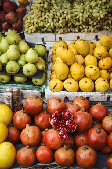 Detail of Fruits at Mapusa Market, Goa, India, Asia-Yadid Levy-Photographic Print