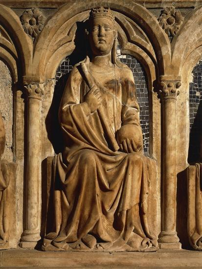 Detail of Funeral Monument of Marie of Valois--Giclee Print