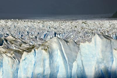 Detail of Glaciar Perito Moreno with Blue Ice Caverns--Photographic Print