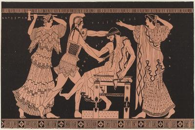 Detail of Greek Pottery--Giclee Print