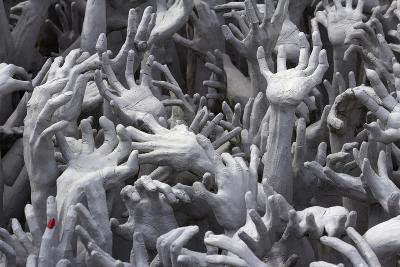Detail of Hands-Stuart Black-Photographic Print