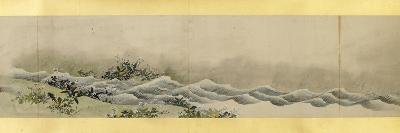 Detail of Handscroll with Miscellaneous Images, Edo Period, 1839-Katsushika Hokusai-Giclee Print