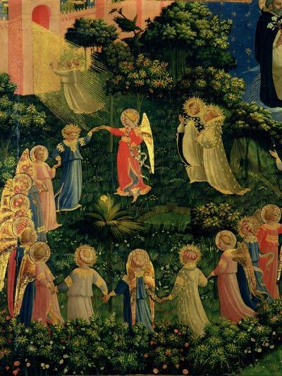 Detail of Heaven from the Last Judgement-Fra Angelico-Giclee Print