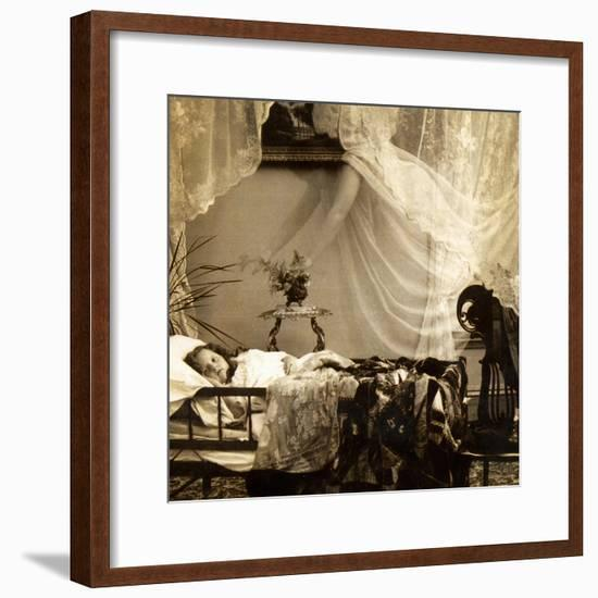 "Detail of ""Her Guardian Angel"", C.1899--Framed Giclee Print"