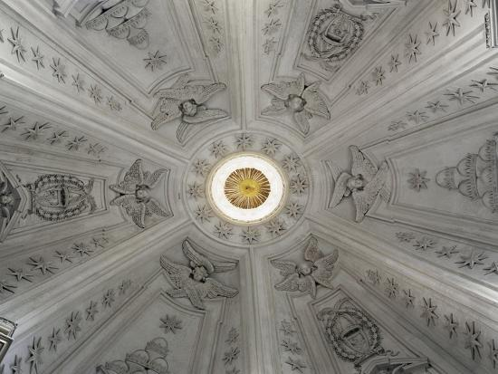 Detail of Interior of Dome of Church of St Yves at La Sapienza--Giclee Print