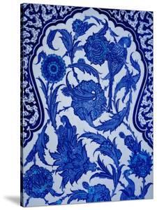 Detail of Iznik Faience Mosaic Iznik Faience Mosaic