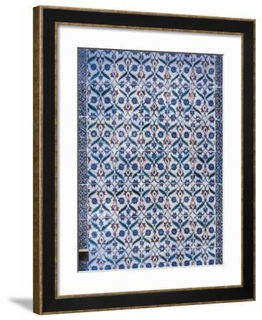 Detail of Iznik Faience Mosaic--Framed Giclee Print