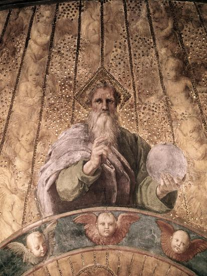 Detail of La Disputa-Raphael-Giclee Print