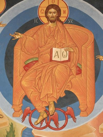 Detail of Last Judgment Fresco at Monastery of Saint-Antoine-le-Grand-Pascal Deloche-Photographic Print