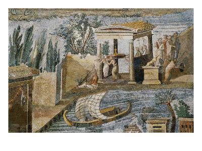 Detail of Palestrina Mosaic-S^ Vannini-Giclee Print