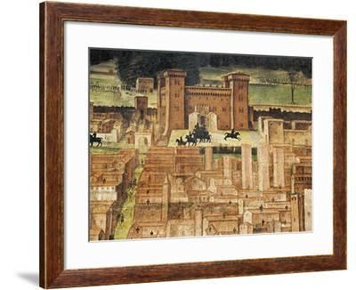 Detail of Panorama of Pavia--Framed Giclee Print