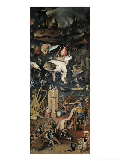 Detail of Right Panel Garden of Earthly Delights-Hieronymus Bosch-Giclee Print